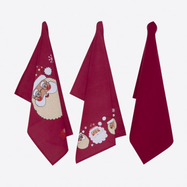 Kitchen towel set 3 pcs - Cooking