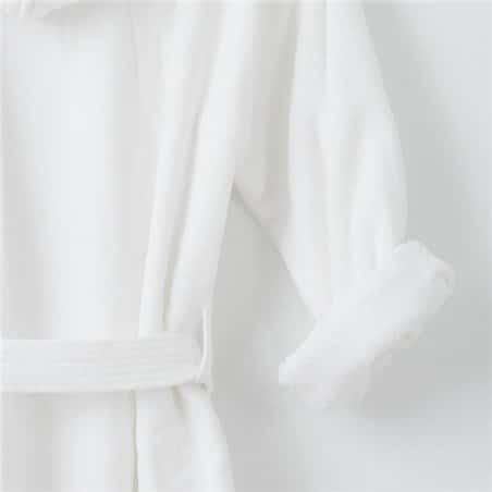 Bathrobe - Basic LM Blanco