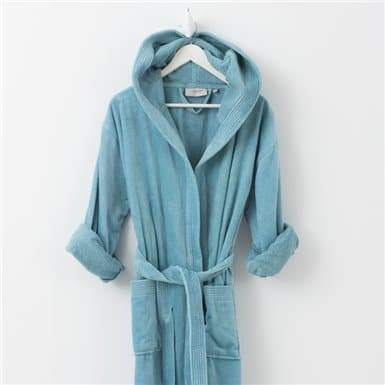 Bathrobe - Basic LM Turquesa