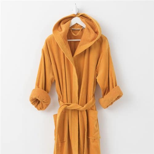 Bathrobe - Basic LM Ocre