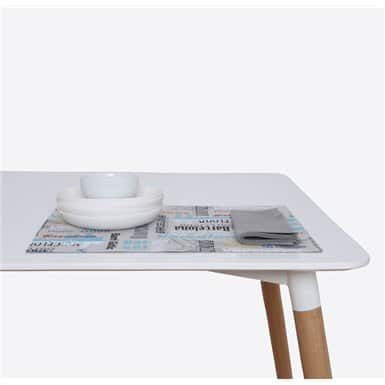 Place mat + 1 napkin - Bcn Skyline