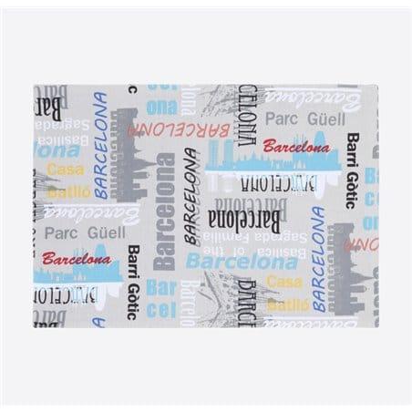 Individual + 1 Servilleta - Bcn Skyline