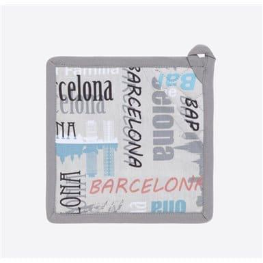 Pot holder - Bcn Skyline