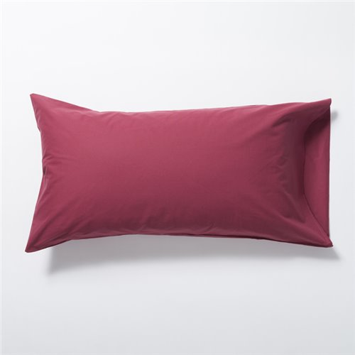 Funda Almohada - Basic Granate
