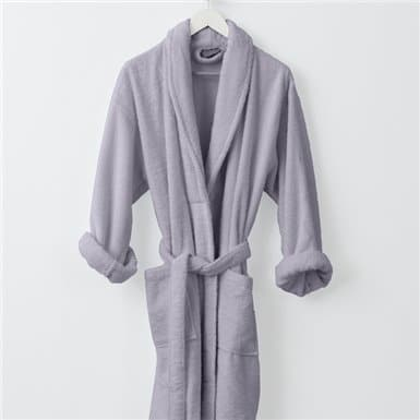 Bathrobe - Basic LMQ Lila