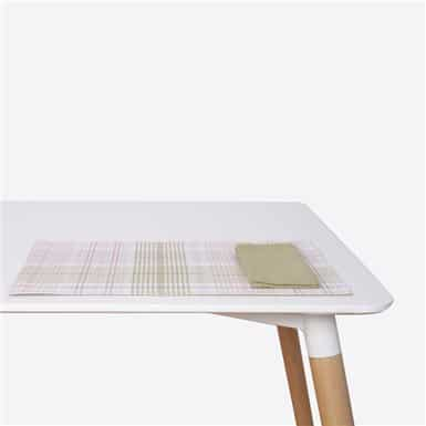 Place mat - Rose Lurex