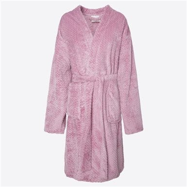 Housecoat - Basic Rosa
