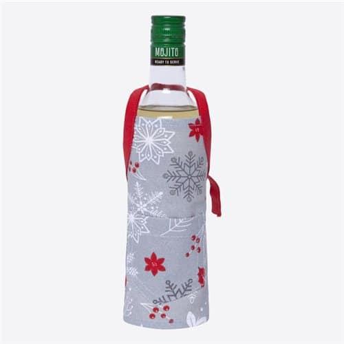 Delantal botella - Nieve
