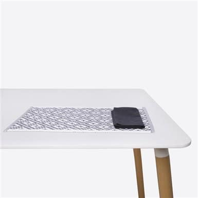 Place mat - Basic Negro