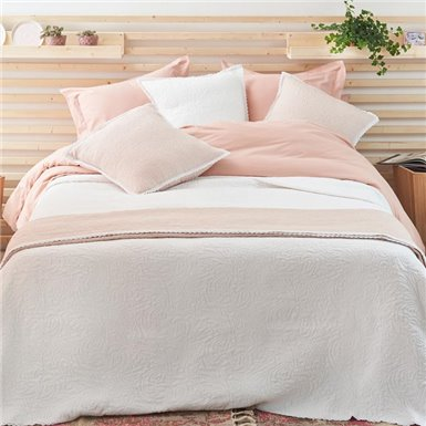 Pique Bedspread - Azalea