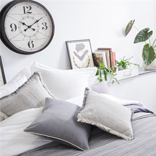 Cushion cover - Basic Plomo