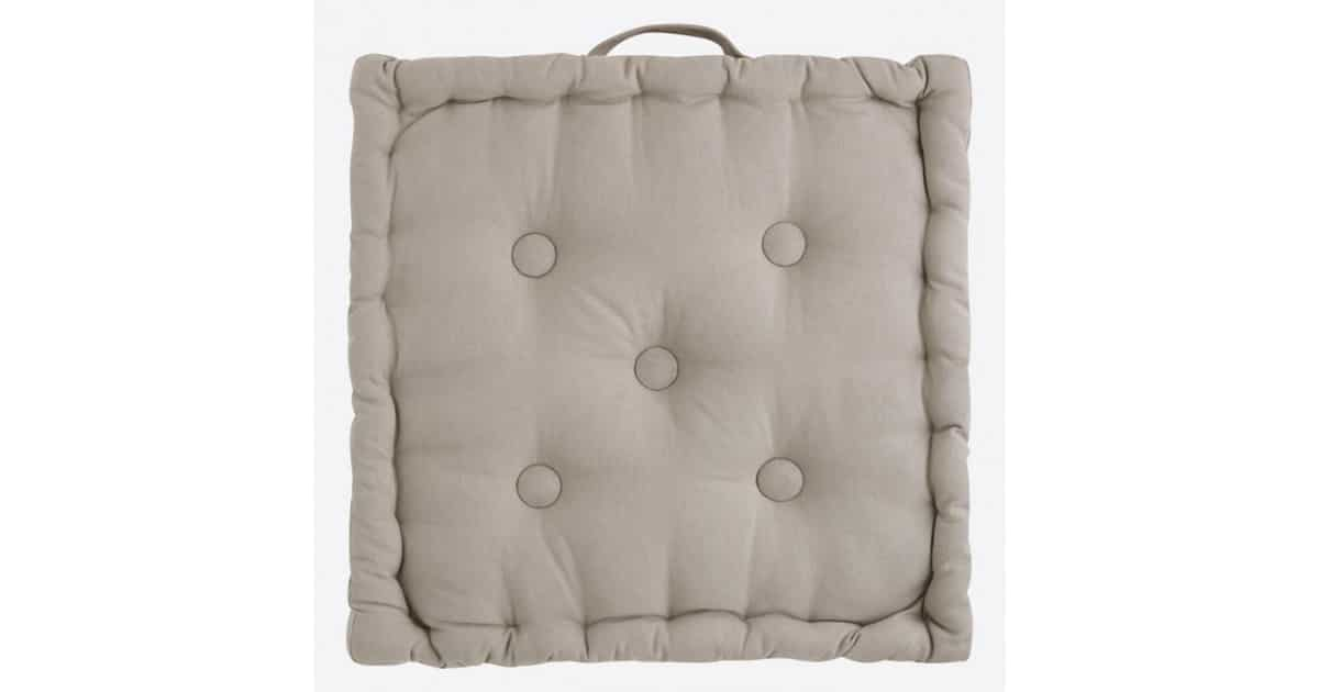 Box Cushion - Basic Beige