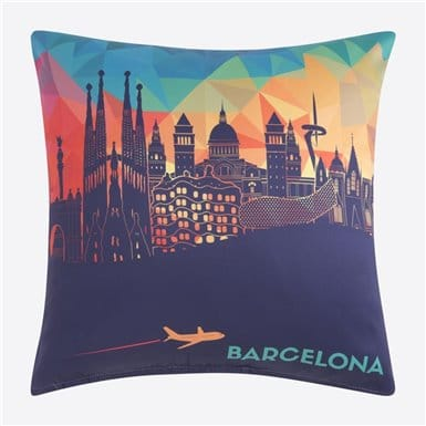 Cushion cover - Skyline Plane