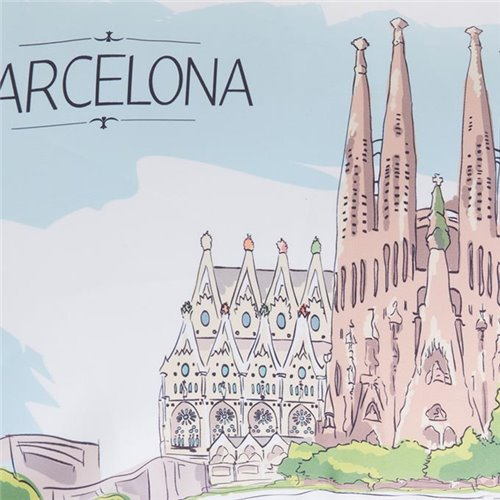 Cushion cover - Sagrada Familia