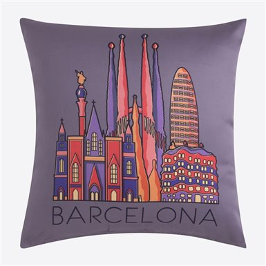 Cushion cover - Skyline Mink