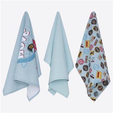 Kitchen towel set 3 pcs - Bcn Vintage