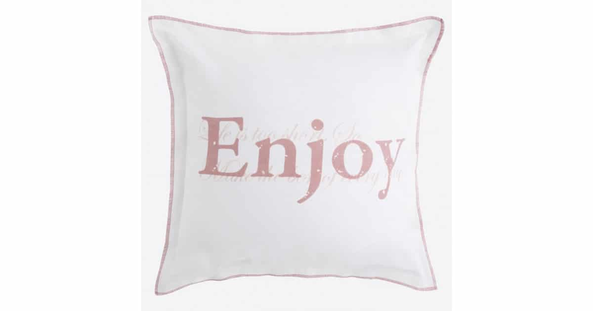 Cushion cover - Enjoy