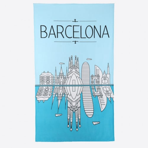 Beach Towel - Skyline Sea
