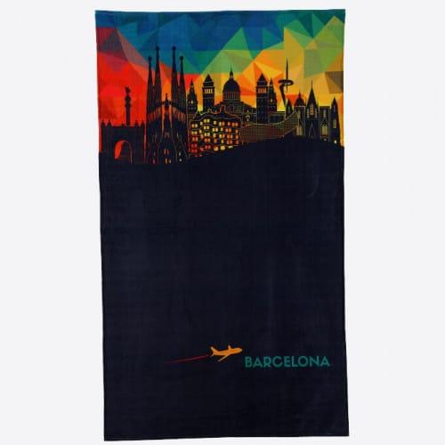 Beach Towel - Skyline Plane