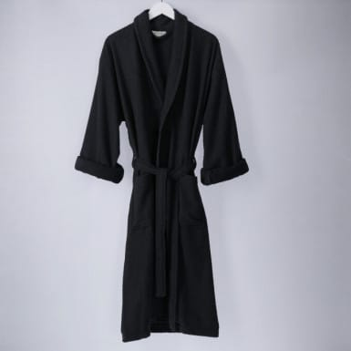 Bathrobe - Basic LMQ Negro