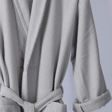 Bathrobe - Basic LMQ Plata