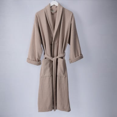 Bathrobe - Basic LMQ Beige