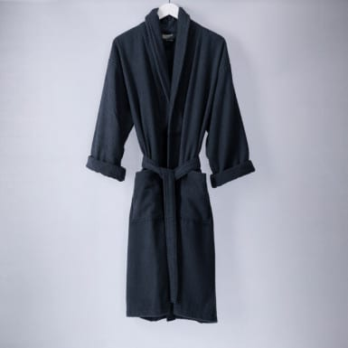 Bathrobe - Basic LMQ Marengo