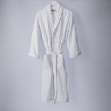 Bathrobe - Basic LMQ Blanco