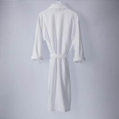 Bathrobe - Basic LMQ Blanco