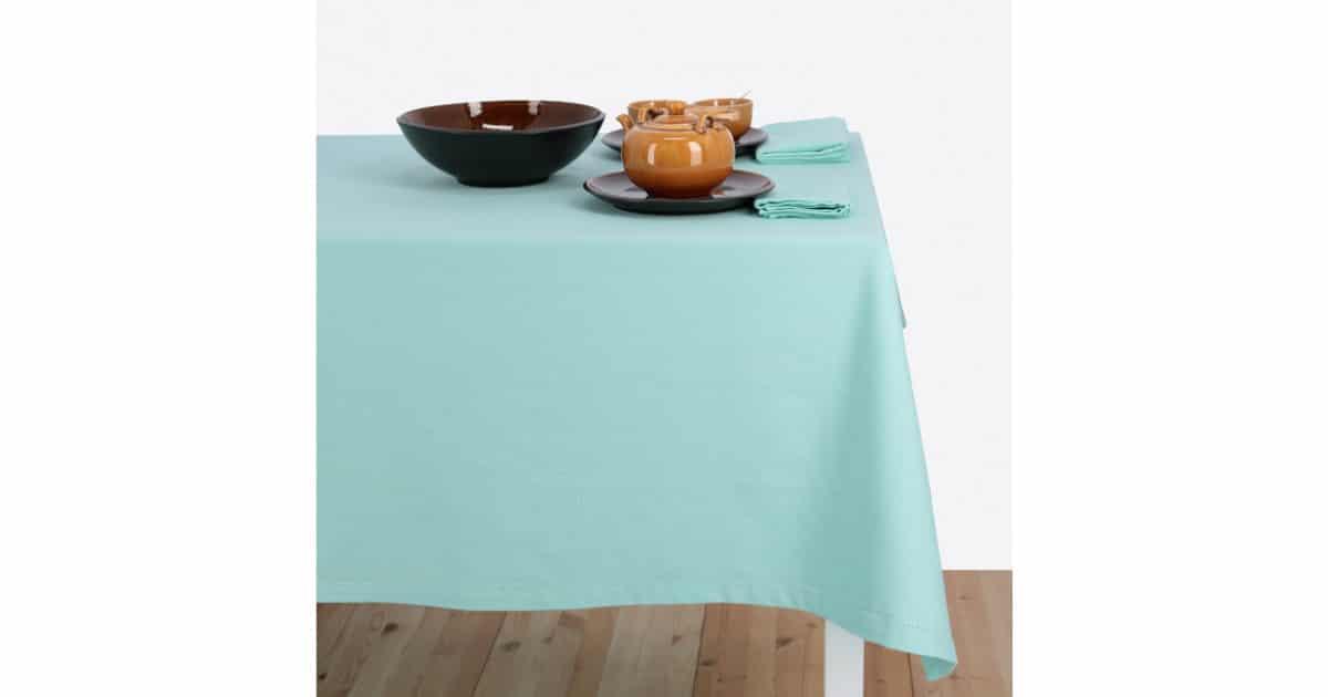 Tablecloth - Basic Aqua