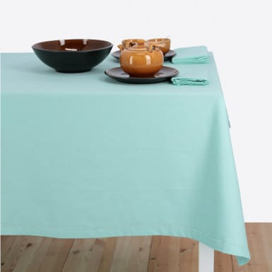 Tablecloth - Basic Aqua