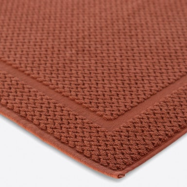 Bath Rug - Basic LM Terracota