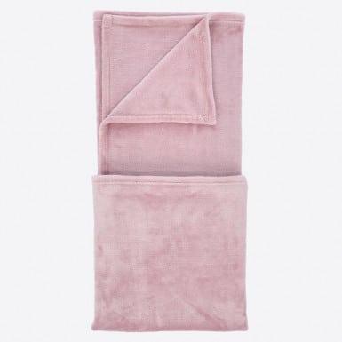 Manta Sofá - Basic rosado