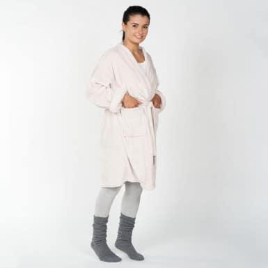 Housecoat - Basic anis