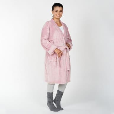 Housecoat - Basic rosado