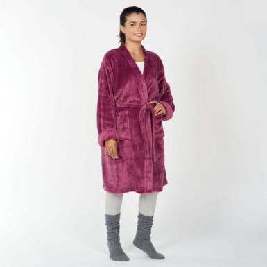 Housecoat - Basic morado