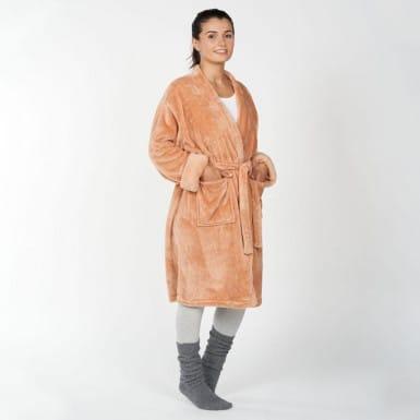 Housecoat - Basic toffy