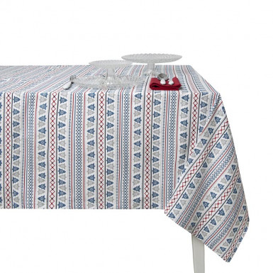 Cotton Tablecloth - Arboles