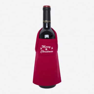 Bottle apron - Basic rojo