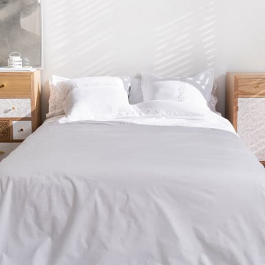 Percale Cotton Duvet Cover...