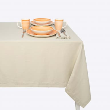 Linen Tablecloth - Stone...