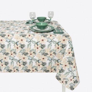 Cotton Tablecloth - Tropical
