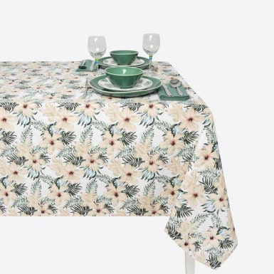 Cotton Tablecloth - Tropical