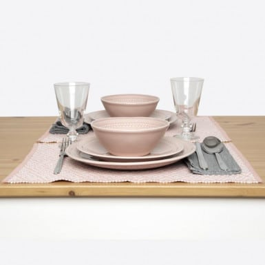 Place mat - Basic coral