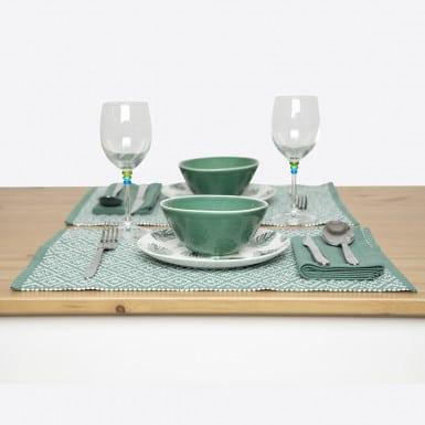 Place mat - Basic verde