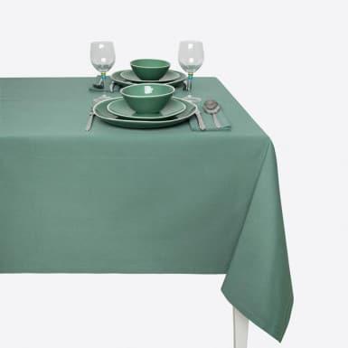 Mantel Algodón - Basic verde
