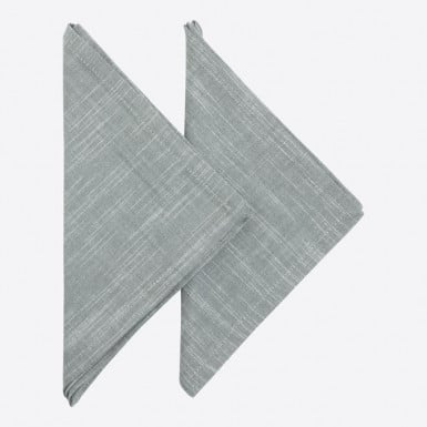 Cotton Set 2 napkins - Gris...