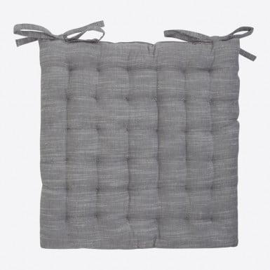 Cojín silla - Gris chambray