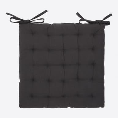 Coixí cadira - Basic negro