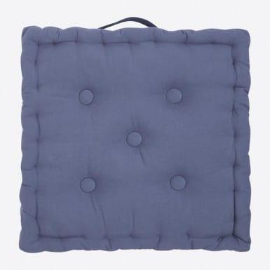 Box Cushion - Basic azul